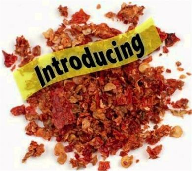 1 Ounce Dried Carolina Reaper Flakes
