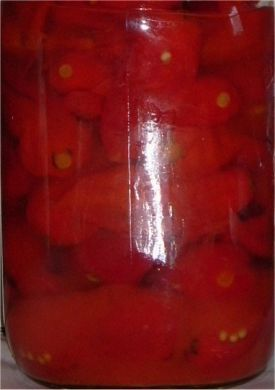 Pickled Bhut Jolokia Pods 20 Kilogram